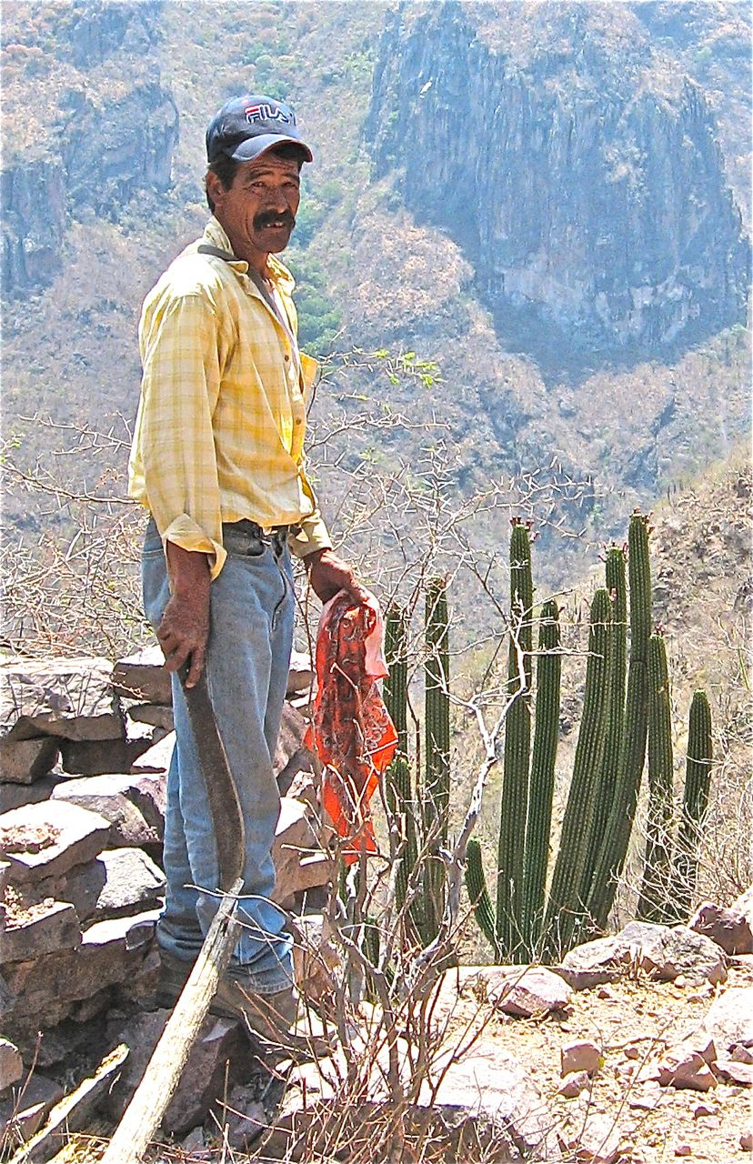 Geronimo Mancinas followed in his father's footsteps as a first class Sierra guide.