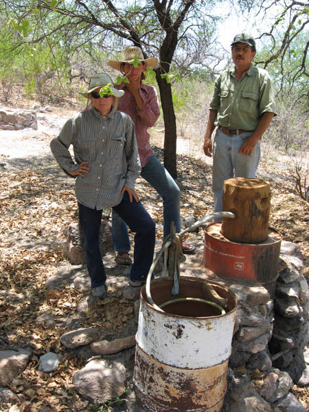 Rustic but functional still in the sierras. One of over 3000 for making Bacanora- Sonoran moonshine!!
